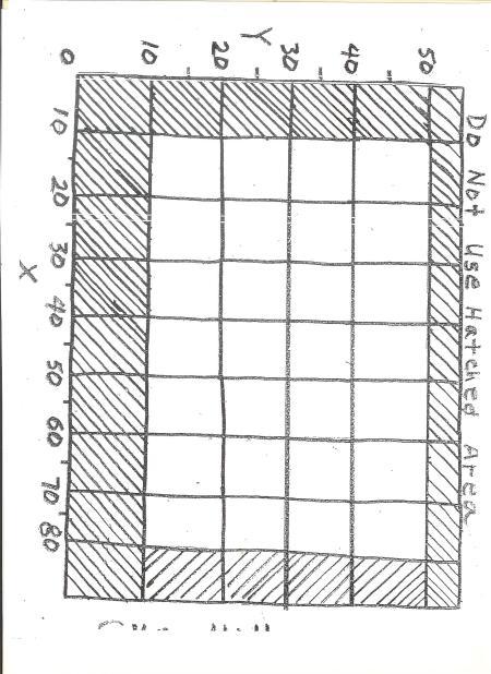 CNC Grid Sheet